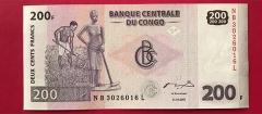 کنگو - 200 فرانک