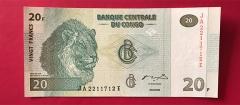 کنگو - 20 فرانک