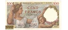 فرانسه - 100 فرانک