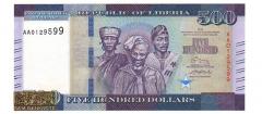 لیبریا -500 دلار